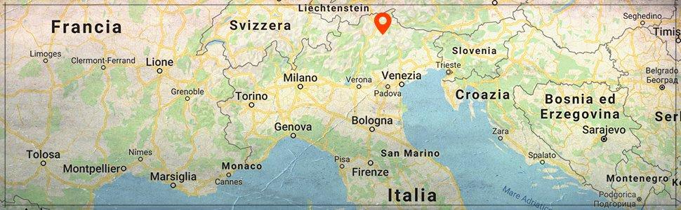 mappa canazei