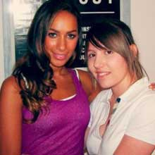 Leona Lewis Meet&Greet 2008 Milano