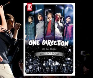 One Direction DVD Live prevendita