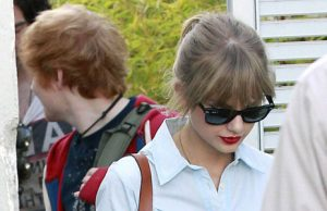 Ed Sheeran Taylor Swift studio di registrazione