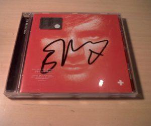 Ed Sheeran album + autografato
