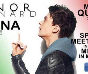 Conor Maynard Italia 4 settembre 2012