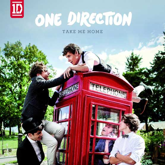 One Direction cover album Take Me Home