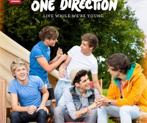 One Direction Live While We're Young cover singolo