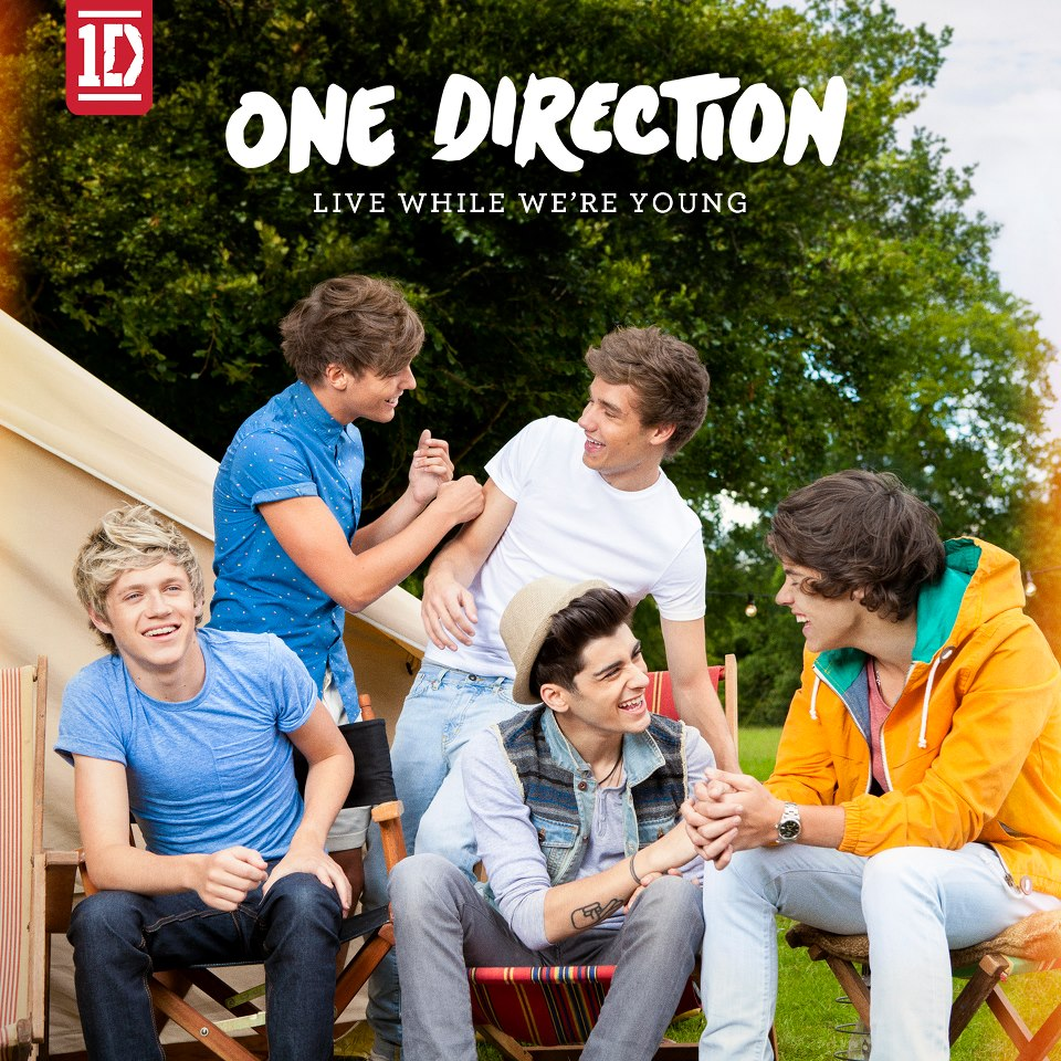 """One Direction """"Live While We're Young"""": il CD singolo nei ..."""