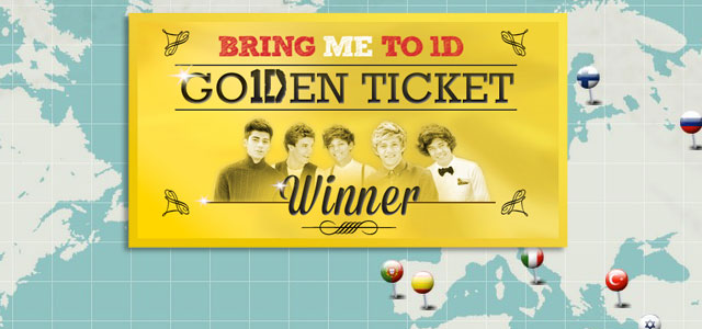 BRING ME TO 1D ITALY One Direction Go1Den Ticket