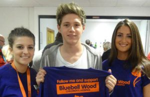 Niall Horal One Dierction Bluebell Wood Hospital