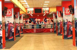 1D world Store One Direction New York