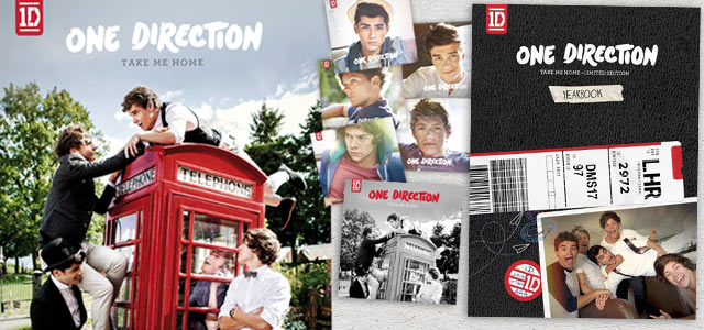 One Direction versioni Take Me Home in vendita