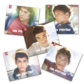 One Direction Take Me Home singole copertine membri