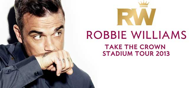 Robbie Williams concerto Milano stadio san siro luglio 2013