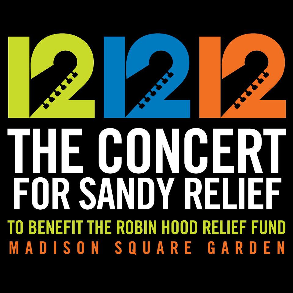 The concert for Sandy relief 2012