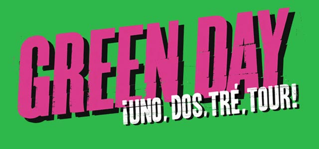 Green Day Tour 2013 Italia concerti