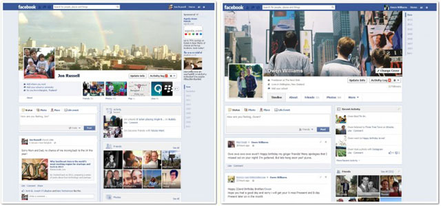 Facebook nuova Timeline 2013