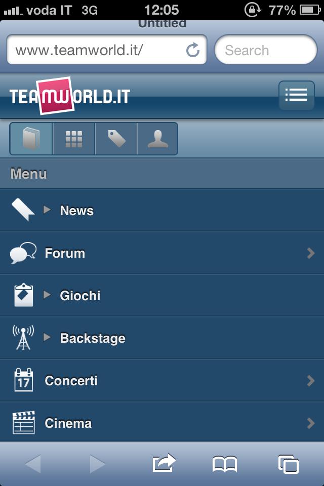 Team World mobile