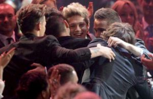 One Direction vittoria Brit Awards