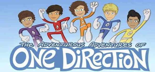 The adventurous adventures of one direction cartoon video