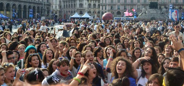 Milano raduno Directioners 17 Marzo