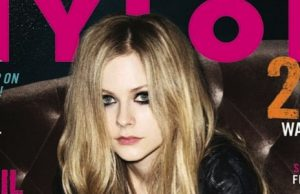 Avril cover NYLON Magazine
