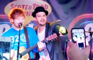 Ed Sheeran e Gavin DeGraw live al Summer Blast Off