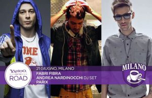 Yahoo on the Road Milano Fabri Fibra