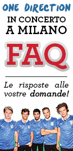 FAQ Concerto One Direction San Siro
