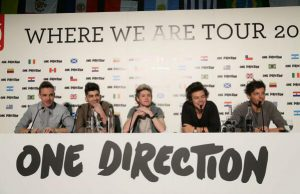 one direction in tour where we are tour