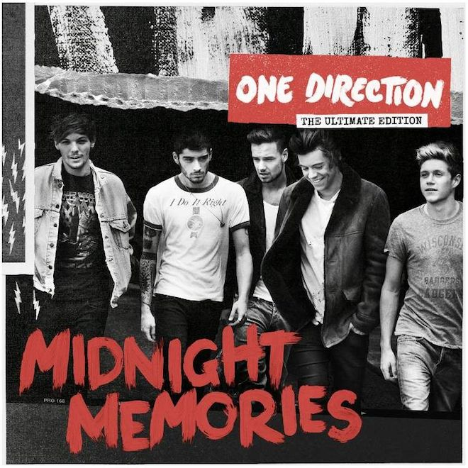 One Direction: Midnight Memories versioni Standard, Deluxe ...