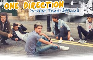 one direction street team ufficiali