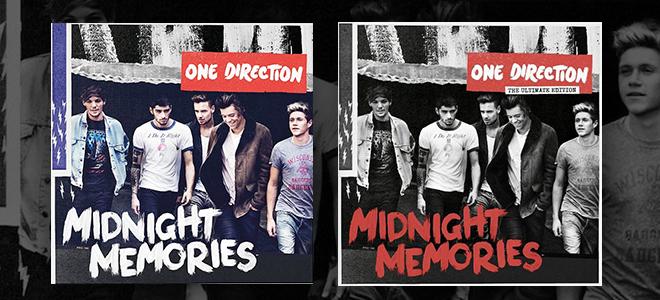 one direction midnight memories versioni standard deluxe