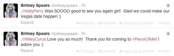 Tweet Britney Spears