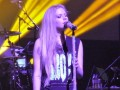avril lavigne in tour