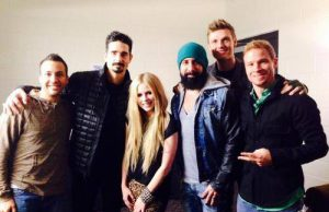 Avril Lavigne Backstreet Boys Tour 2014