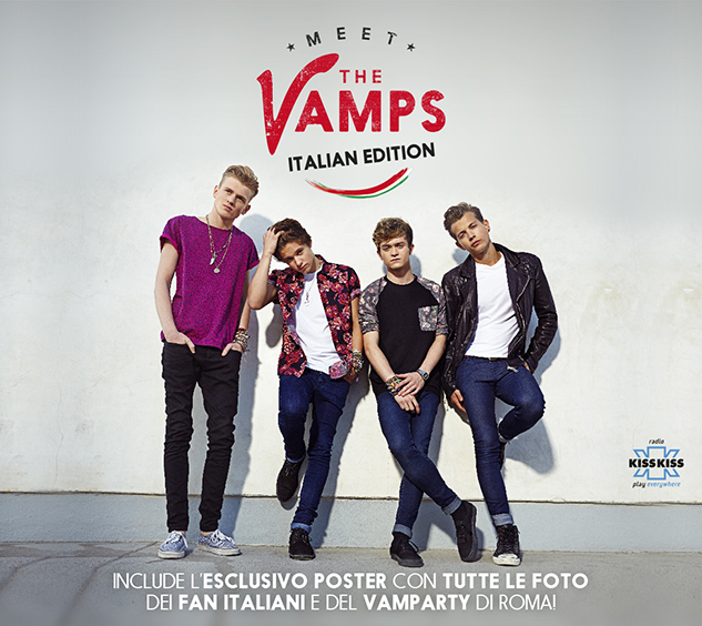 the vamps meet the vamps copertina italiana