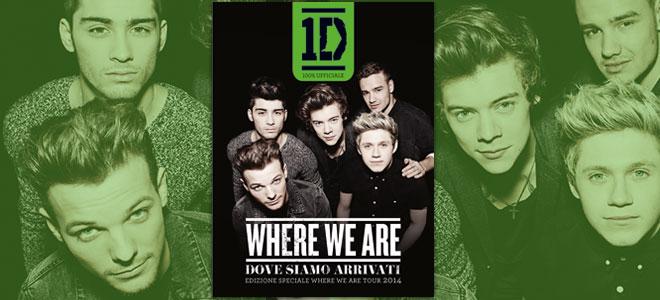 Where We Are 2014 libro edizione speciale