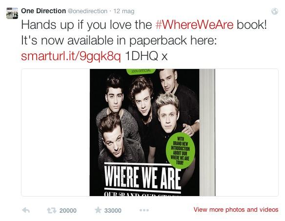 libro where we are edizione Tour 2014