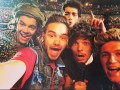 selfie one direction san siro