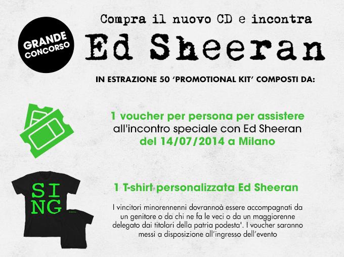 premi Ed Sheeran GameStop