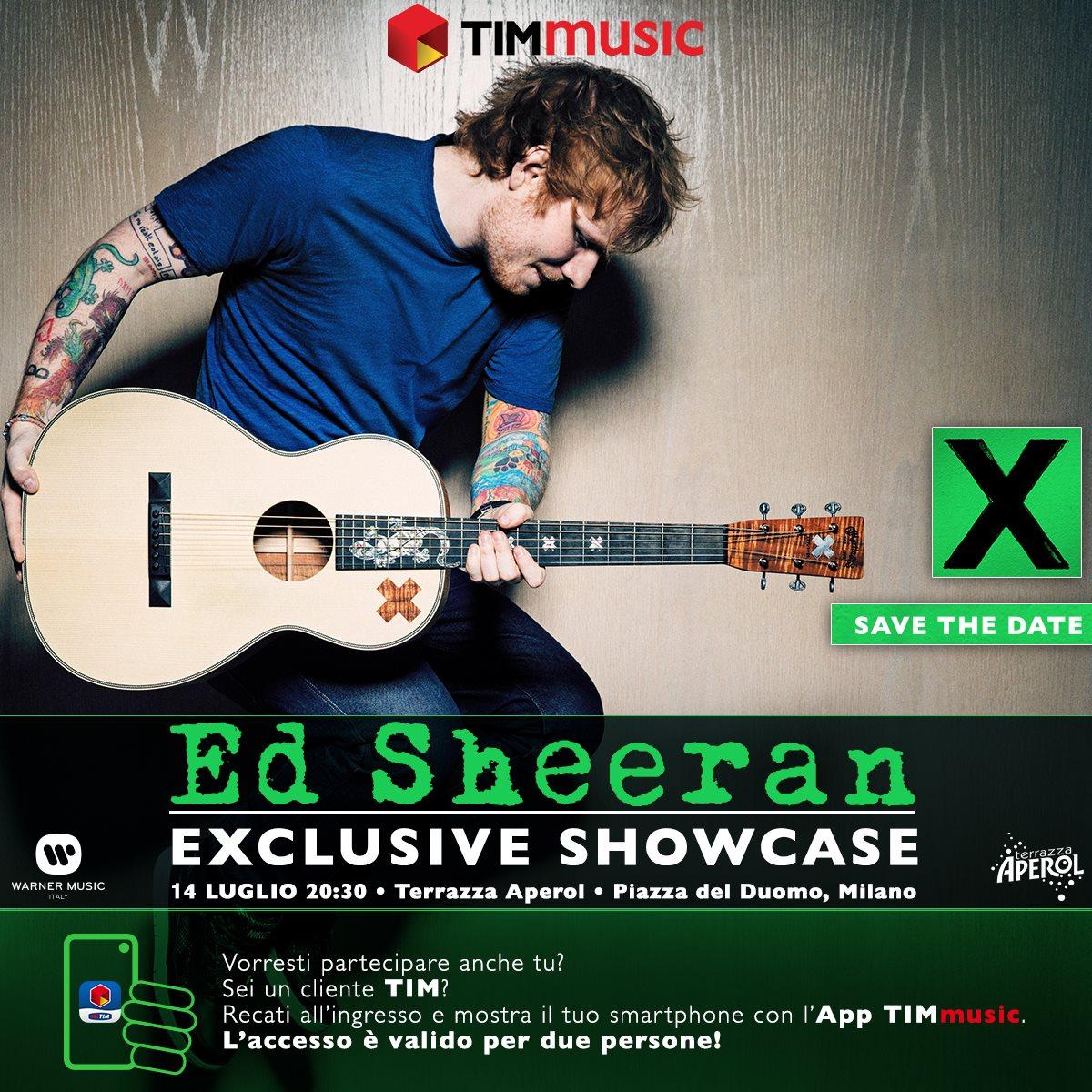 Ed Sheeran A Milano Il 14 Luglio Tutti Gli Appuntamenti