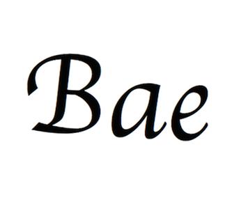 significato bae
