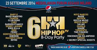 hip hop tv concerto milano