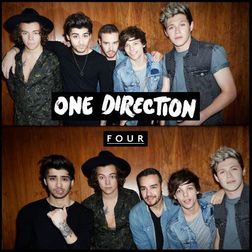 One Direction four album cover