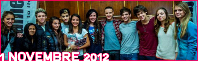 One Direction Savoia 2012