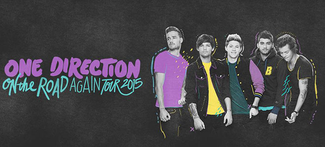 One Direction On The Road Again 2015 Tour