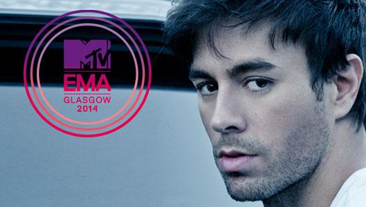 Enrique Iglesias MTV EMA Glasgow