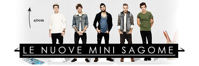 nuove sagome One Direction