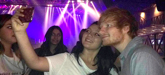 meet and greet ed sheeran 2014 hit