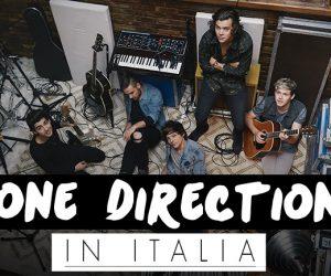 One Direction in Italia 2014