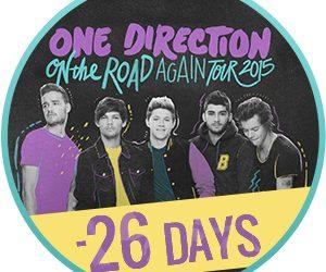 On The Road Again Tour 26 giorni