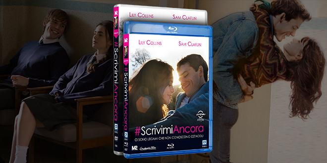 Scrivimi Ancora film DVD e blu-ray